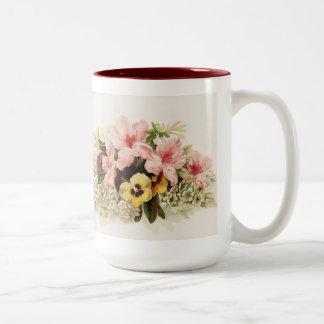 Vintage Spring Blossoms Mug