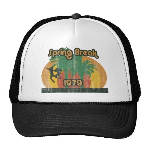Vintage Spring Break 1979, 70s T-Shirt Hat