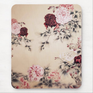 Vintage Spring Double Happines/Chinese Wedding Mouse Pad