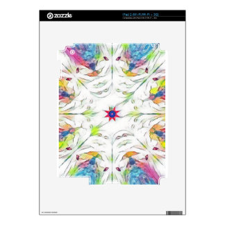 vintage spring handkerchief pattern decals for the iPad 2