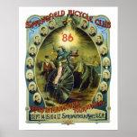 Vintage Springfield Bicycle Club Advertisement Print