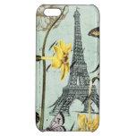 Vintage Springtime in Paris iphone 5 case
