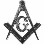 """Vintage Square &amp; Compasses Sculptured Fridge Magne Statuette<br><div class=""""desc"""">Show your pride as a Freemason with these items displaying this vintage Masonic Square &amp; Compasses emblem.</div>"""