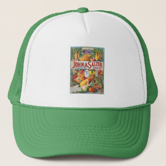 Vintage Squash Seed Packet Truckers Hat