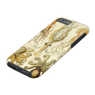 Vintage Squid Octopus Gamochonia by Ernst Haeckel Tough iPhone 6 Case
