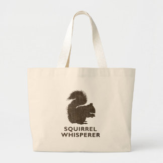 Vintage Squirrel Whisperer Canvas Bags