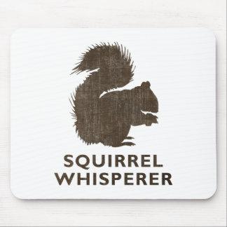 Vintage Squirrel Whisperer Mouse Pad