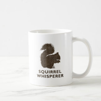 Vintage Squirrel Whisperer Coffee Mug