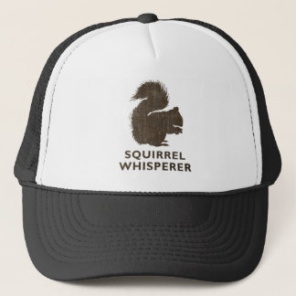 Vintage Squirrel Whisperer Trucker Hat