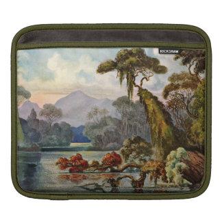 Vintage Sri Lanka Landscape Sleeve For iPads