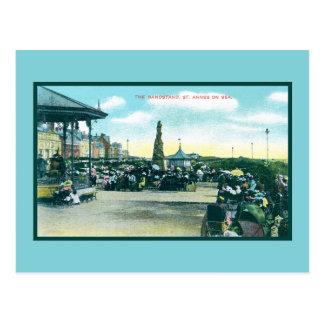 Vintage St-Anne's-on-the-Sea English sea resort Postcard