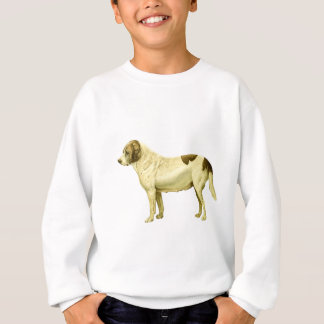 Vintage St. Bernard Illustration Sweatshirt