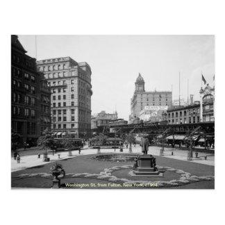 Vintage St de América, Washington, New York City Postal