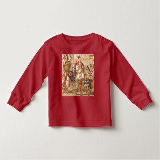 Vintage St. Nicholas Dutch St. Nick Sinterklaas Toddler T-shirt