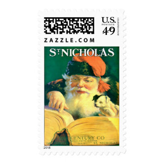 VINTAGE ST NICHOLAS MATCHING COVERART POSTAGE