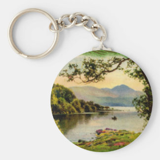 Vintage St. Paddy's By the Lake Keychain