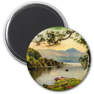 Vintage St. Paddy's By the Lake Magnet