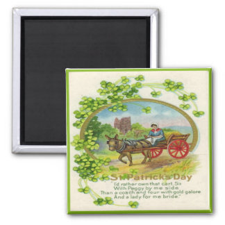 Vintage St Patricks Day 14 Magnet