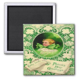 Vintage St Patricks Day 18 Magnet