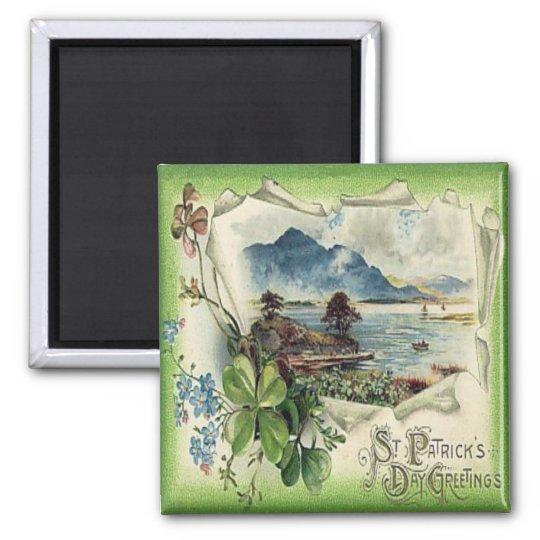 Vintage St Patricks Day 26 Magnet