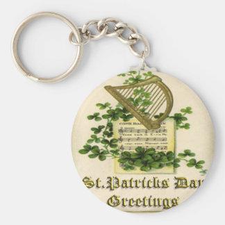 Vintage St Patricks Day 28 Keychains
