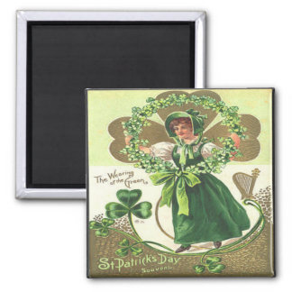 Vintage St Patricks Day 2 Magnet