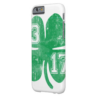 Vintage St. Patrick's Day 3/17 Shamrock Barely There iPhone 6 Case