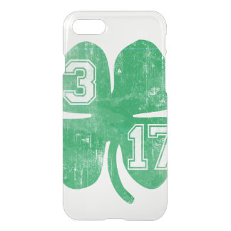 Vintage St. Patrick's Day 3/17 Shamrock iPhone 7 Case