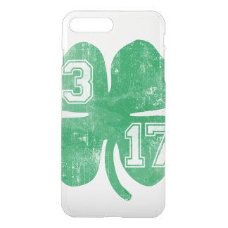Vintage St. Patrick's Day 3/17 Shamrock iPhone 7 Plus Case