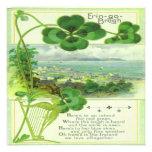 Vintage St Patricks Day 7 Greeting Card Invitations