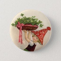 Vintage St. Patrick's Day Button