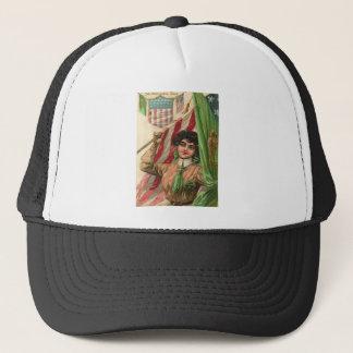 Vintage  St Patrick's Day Card Trucker Hat