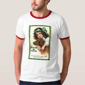 Vintage St Patricks Day Greeting Card Products T-Shirt