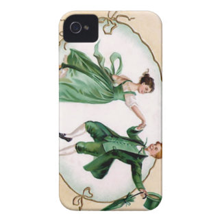 Vintage St. Patrick's Day iPhone 4 Case-Mate Case