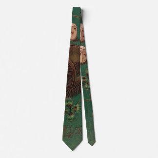 Vintage St. Patrick's Day Irish Good Luck Dice Tie