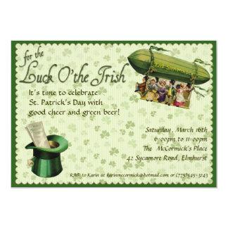 Vintage St. Patrick's Day Party Invitation