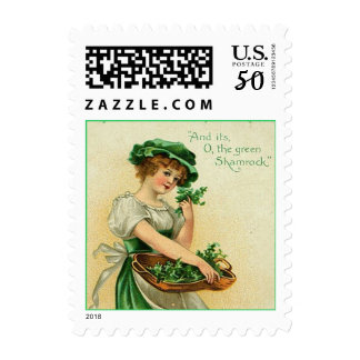 Vintage St. Patrick's Day Postage