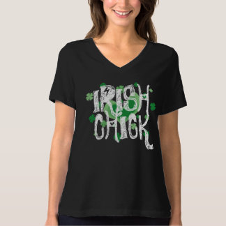 Vintage St Patrick's Day shirt |  Irish chick