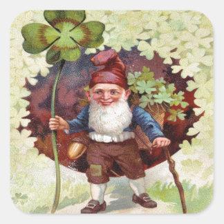 Vintage St Patrick's Day Square Sticker