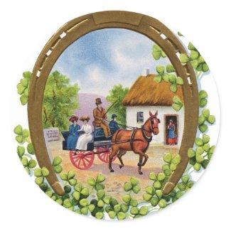 Vintage St. Patrick's Day Sticker sticker