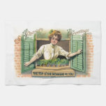 Vintage St. Patrick's Day Towel