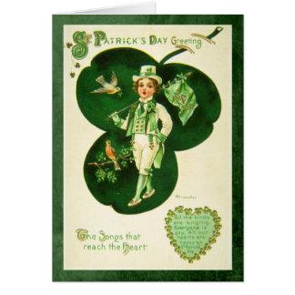 Vintage St Patrick's Greeting Card