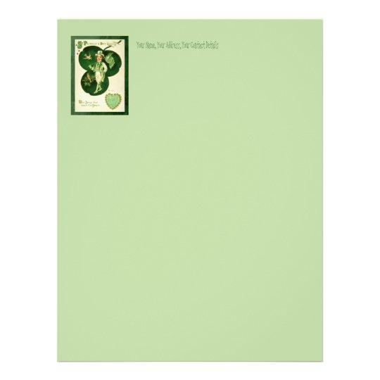 Vintage St Patrick's Greeting Letterhead