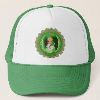 Vintage St. Patrick's Kiss Me I'm Irish Trucker Hat