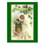 Vintage St. Patrick's Morn Postcard