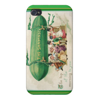 """Vintage St. Patrick's """"The Shamrock"""" Zeppelin iPhone 4 Cover"""