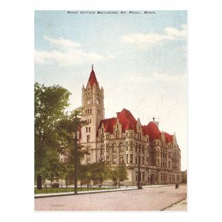 Vintage St. Paul Post Office Postcards
