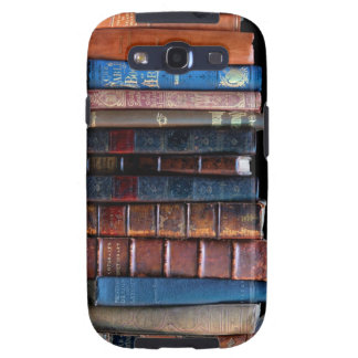 VIntage Stack of Old Books Samsung Galaxy SIII Covers