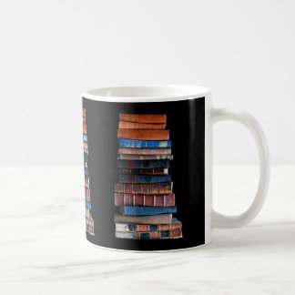 VIntage Stack of Old Books Coffee Mug
