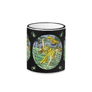 Vintage Stained Glass Dancer Mug